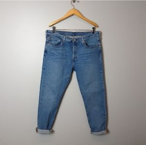Levi's | 501s High Waisted Tapered Leg